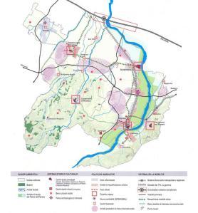 PSC dell'Unione Terre di Castelli - La struttura e le politiche territoriali