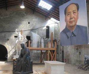 Post-monument, Biennale internazionale di scultura di Carrara (foto del 3 luglio 2010)
