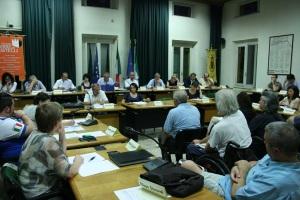 Seduta di insediamento del consiglio dell'Unione Terre di Castelli (foto del 31 luglio 2014)