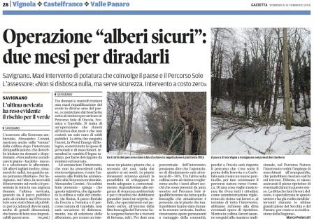 Gazzetta di Modena, 25 febbraio 2015, p.28.